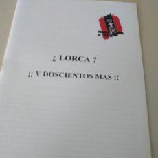 Libros de segunda mano: MOVIMIENTO FALANGISTA DE ESPAÑA. CUADERNOS FORMACIÓN.¿LORCA? Y DOSCIENTOS MAS!!!. Lote 205367497