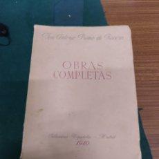 Libros de segunda mano: JOSÉ ANTONIO PRIMO DE RIVERA. OBRAS COMPLETAS. 1949. Lote 205458891