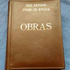 Libros de segunda mano: OBRAS DE JOSÉ ANTONIO PRIMO DE RIVERA -EDITORIAL ALMENA -DELEGACIÓN NACIONAL DE LA SECCIÓN FEMENINA. Lote 205733953