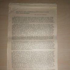 Libros de segunda mano: EL PARTIDO ILEGAL Y SUS VÍNCULOS CON LAS MASAS - SANTIAGO CARRILLO - PARTIDO COMUNISTA COMUNISTA. Lote 207144331