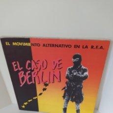 Libros de segunda mano: EL MOVIMIENTO ALTERNATIVO EN LA R.F.A. EL CASO DE BERLÍN. PRIMERA EDICIÓN. RAMÓN FERNÁNDEZ DURÁN.. Lote 207160865