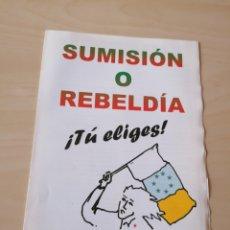 Libros de segunda mano: ANTIGUO PROGRAMA DEL PARTIDO COMUNISTA DEL PUEBLO CANARIO. Lote 207189270