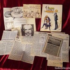 Libros de segunda mano: GOLFOS, GAFES Y GORRONES, ALFONSO USSÍA, SÁBADO GRÁFICO, 1983, CON COLECCIÓN DE ARTÍCULOS DEL AUTOR. Lote 207211536