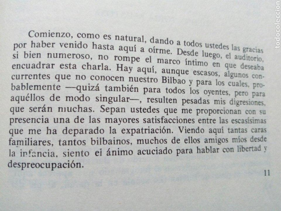 Libros de segunda mano: PASADO Y FUTURO DE BILBAO (Indalecio Prieto) - Charlas en Méjico en Octubre de 1946 - - Foto 5 - 207762733