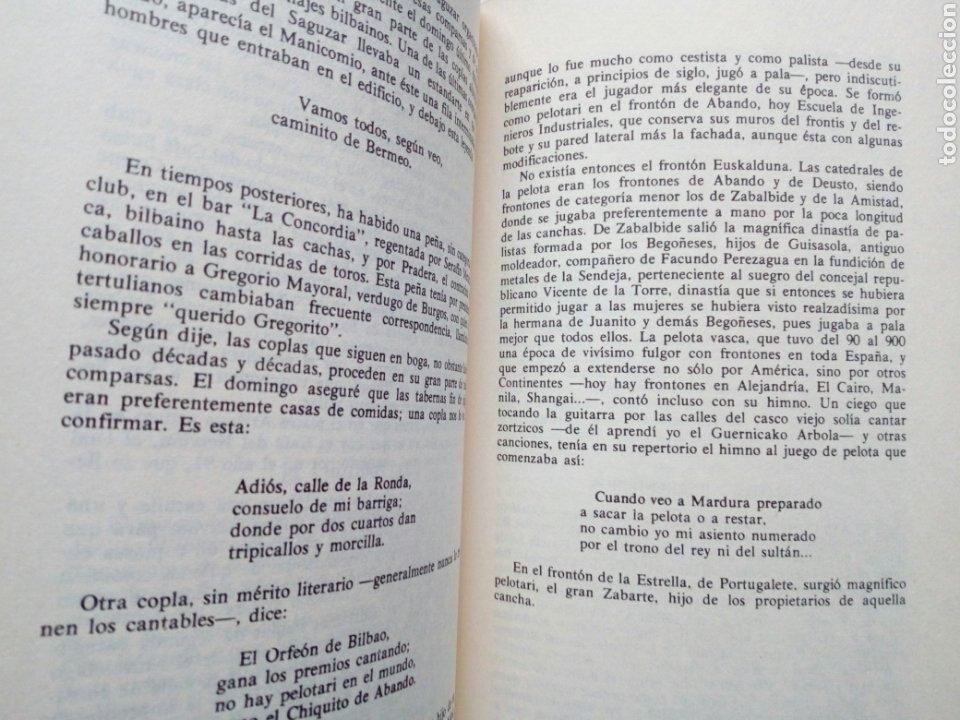 Libros de segunda mano: PASADO Y FUTURO DE BILBAO (Indalecio Prieto) - Charlas en Méjico en Octubre de 1946 - - Foto 7 - 207762733