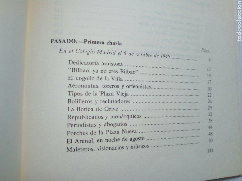 Libros de segunda mano: PASADO Y FUTURO DE BILBAO (Indalecio Prieto) - Charlas en Méjico en Octubre de 1946 - - Foto 8 - 207762733