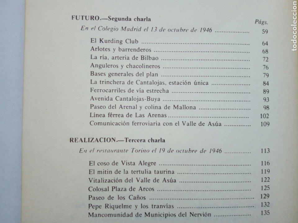 Libros de segunda mano: PASADO Y FUTURO DE BILBAO (Indalecio Prieto) - Charlas en Méjico en Octubre de 1946 - - Foto 9 - 207762733