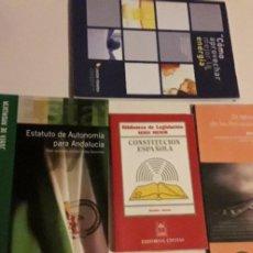Libros de segunda mano: CONSTITUCIÓN Y ESTATUTO DE ANDALUCÍA. Lote 208034333