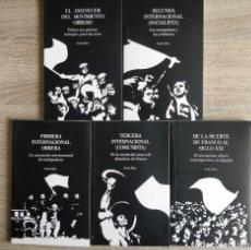 Libros de segunda mano: GRANDES MOMENTOS DEL MOVIMIENTO OBRERO. 5 TOMOS EN ESTUCHE ** CARLOS DIAZ. Lote 241450285