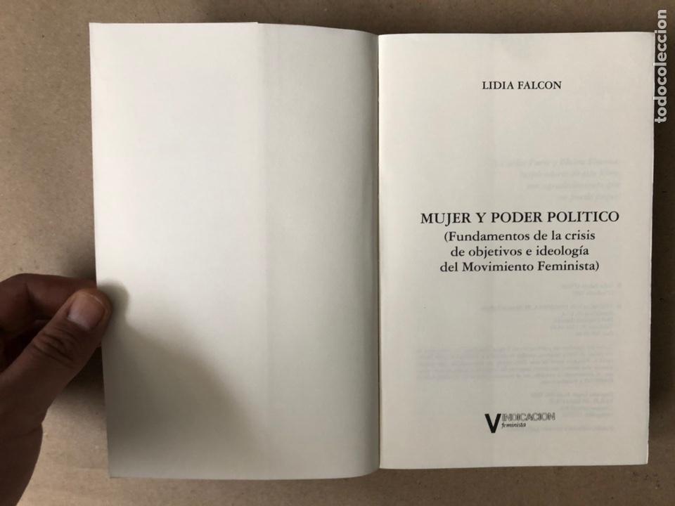 Libros de segunda mano: MUJER Y PODER POLÍTICO (CRISIS DE OBJETIVOS E IDEOLOGÍA DEL MOVIMIENTO FEMINISTA). LIDIA FALCÓN - Foto 2 - 209215307