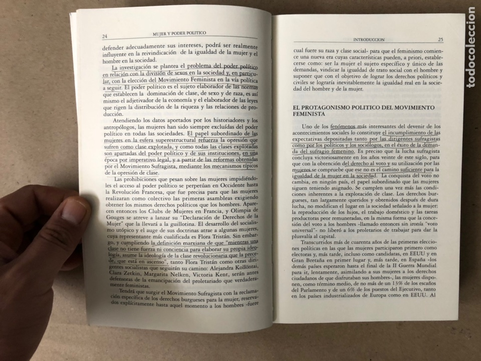 Libros de segunda mano: MUJER Y PODER POLÍTICO (CRISIS DE OBJETIVOS E IDEOLOGÍA DEL MOVIMIENTO FEMINISTA). LIDIA FALCÓN - Foto 4 - 209215307