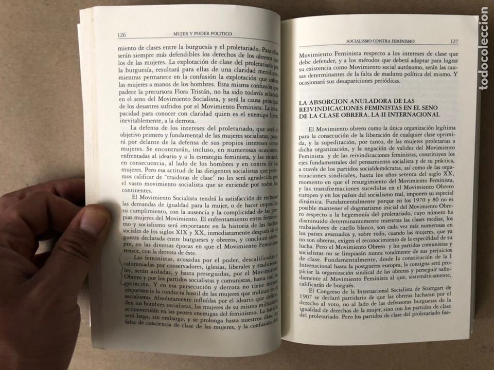 Libros de segunda mano: MUJER Y PODER POLÍTICO (CRISIS DE OBJETIVOS E IDEOLOGÍA DEL MOVIMIENTO FEMINISTA). LIDIA FALCÓN - Foto 5 - 209215307