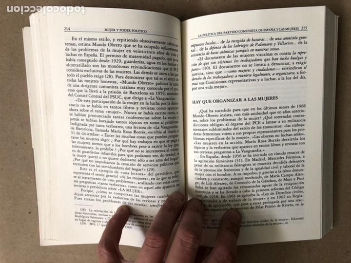 Libros de segunda mano: MUJER Y PODER POLÍTICO (CRISIS DE OBJETIVOS E IDEOLOGÍA DEL MOVIMIENTO FEMINISTA). LIDIA FALCÓN - Foto 6 - 209215307