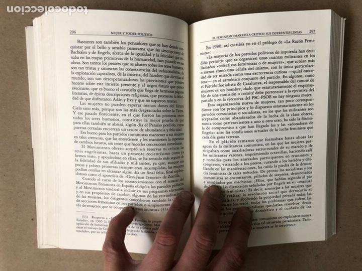 Libros de segunda mano: MUJER Y PODER POLÍTICO (CRISIS DE OBJETIVOS E IDEOLOGÍA DEL MOVIMIENTO FEMINISTA). LIDIA FALCÓN - Foto 7 - 209215307