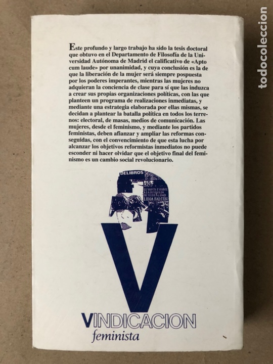 Libros de segunda mano: MUJER Y PODER POLÍTICO (CRISIS DE OBJETIVOS E IDEOLOGÍA DEL MOVIMIENTO FEMINISTA). LIDIA FALCÓN - Foto 10 - 209215307