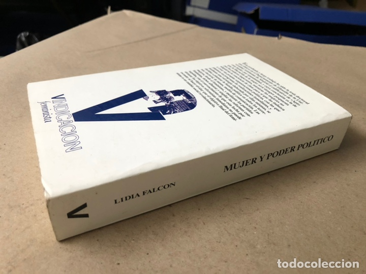 Libros de segunda mano: MUJER Y PODER POLÍTICO (CRISIS DE OBJETIVOS E IDEOLOGÍA DEL MOVIMIENTO FEMINISTA). LIDIA FALCÓN - Foto 11 - 209215307