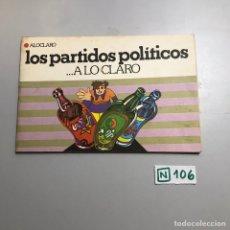 Libros de segunda mano: LOS PARTIDOS POLÍTICOS... A LO CLARO. Lote 209396546