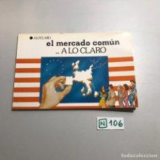 Libros de segunda mano: EL MERCADO COMÚN A LO CLARO. Lote 209396638