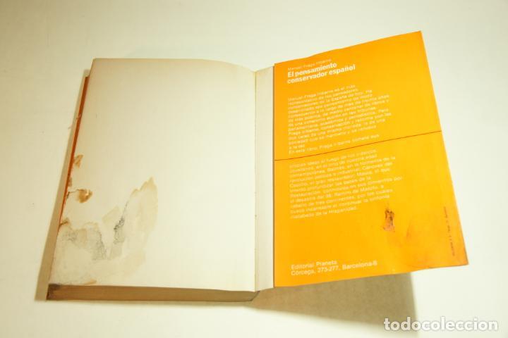 Libros de segunda mano: España entre dos modelos de sociedades. Manuel Fraga Iribarne. Firmado y dedicado. 1982. - Foto 5 - 209417908