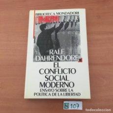 Libros de segunda mano: EL CONFLICTO SOCIAL MODERNO. Lote 209736006
