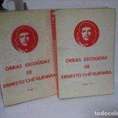 Libros de segunda mano: OBRAS ESCOGIDAS DE ERNESTO CHE GUEVARA. TOMOS I-II: COMPLETO. FUNDAMENTOS, 1976.. Lote 209870225
