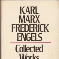 Libros de segunda mano: MARX-ENGELS COLLECTED WORKS 1849-1851 VOL.10 - MARX, KARL & ENGELS, FREDERICK. Lote 210937170