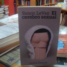 Libros de segunda mano: EL CEREBRO SEXUAL. LEVAY, SIMON. ALIANZA EDITORIAL, 1995, MADRID. - 18X11. 241 PGS.. Lote 210962896