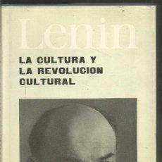 Libros de segunda mano: LENIN. LA CULTURA Y LA REVOLUCION CULTURA. PROGRESO. Lote 210968941