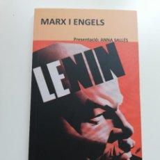 Libros de segunda mano: MARX I ENGELS (V. I LENIN). Lote 214339660