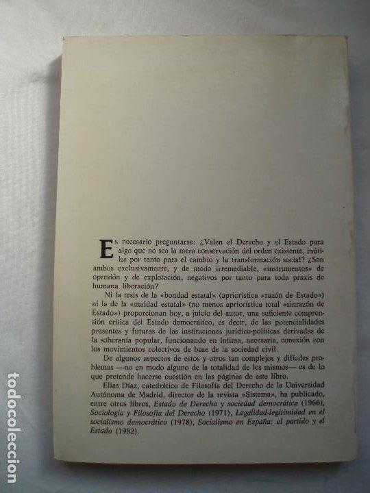 Libros de segunda mano: DE LA MALDAD ESTATAL Y LA SOBERANIA POPULAR - Foto 2 - 214651181