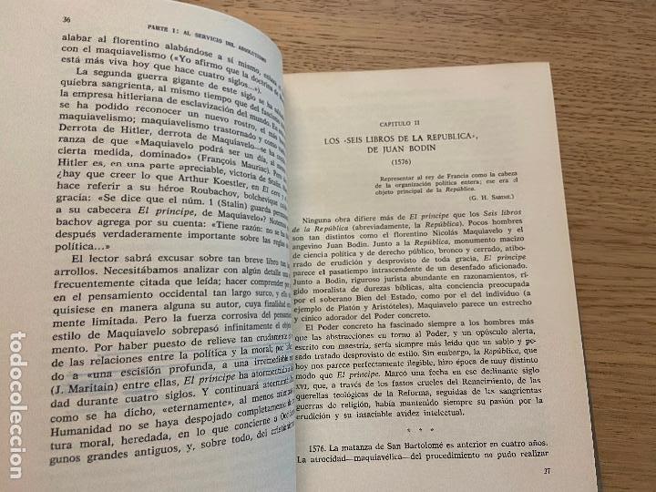 Libros de segunda mano: J.J. CHEVALLIER - LOS GRANDES TEXTOS POLITICOS DESDE MAQUIAVELO A NUESTROS DIAS - AGUILAR - Foto 5 - 214743787