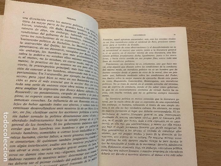Libros de segunda mano: J.J. CHEVALLIER - LOS GRANDES TEXTOS POLITICOS DESDE MAQUIAVELO A NUESTROS DIAS - AGUILAR - Foto 6 - 214743787