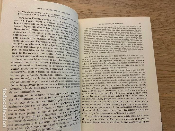 Libros de segunda mano: J.J. CHEVALLIER - LOS GRANDES TEXTOS POLITICOS DESDE MAQUIAVELO A NUESTROS DIAS - AGUILAR - Foto 10 - 214743787