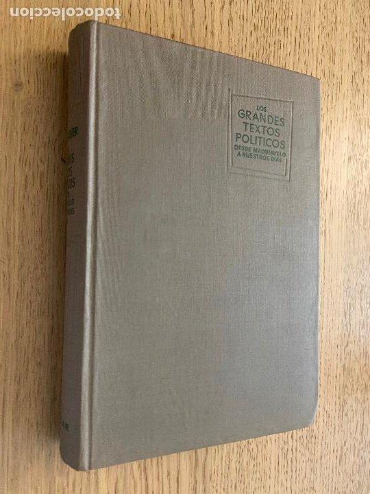 J.J. CHEVALLIER - LOS GRANDES TEXTOS POLITICOS DESDE MAQUIAVELO A NUESTROS DIAS - AGUILAR (Libros de Segunda Mano - Pensamiento - Política)