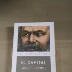 Libros de segunda mano: EL CAPITAL. LIBRO II. TOMO I - KARL MARX. AKAL. Lote 214870975