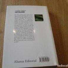 Libros de segunda mano: CAPITALISMO. GEOFFREY INGHAM. ALIANZA EDITORIAL. 2010. Lote 218004610