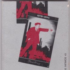 Libros de segunda mano: EL ARTE EN LA TEORIA MARXISTA Y EN LA PRAVTICA SOVIETICA CUADERNOS INFIMOS. Lote 218295205