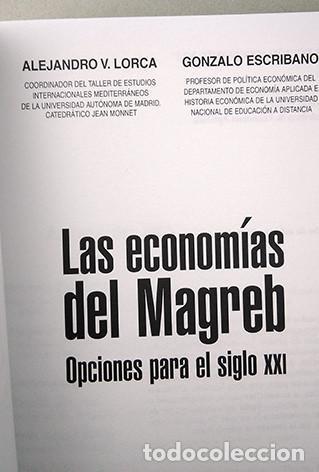 Libros de segunda mano: Las economías del Magreb. Opciones para el siglo XXI. Alejandro V. Lorca, Gonzalo Escribano - Foto 2 - 220124531