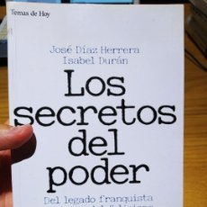 Libros de segunda mano: ESPIONAJE, LOS SECRETOS DEL PODER, JOSE DIAZ HERRERA, ED. TH, 1994. Lote 220700013