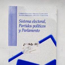 Libros de segunda mano: SISTEMA ELECTORAL, PARTIDOS POLITICOS Y PARLAMENTO. CARMEN FERNANDEZ MIRANDA CAMPOAMOR TDK515. Lote 220876181