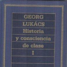 Libros de segunda mano: HISTORIA Y CONCIENCIA DE CLASE DE GEORGE LUKACS. 2 TOMOS. Lote 244765100