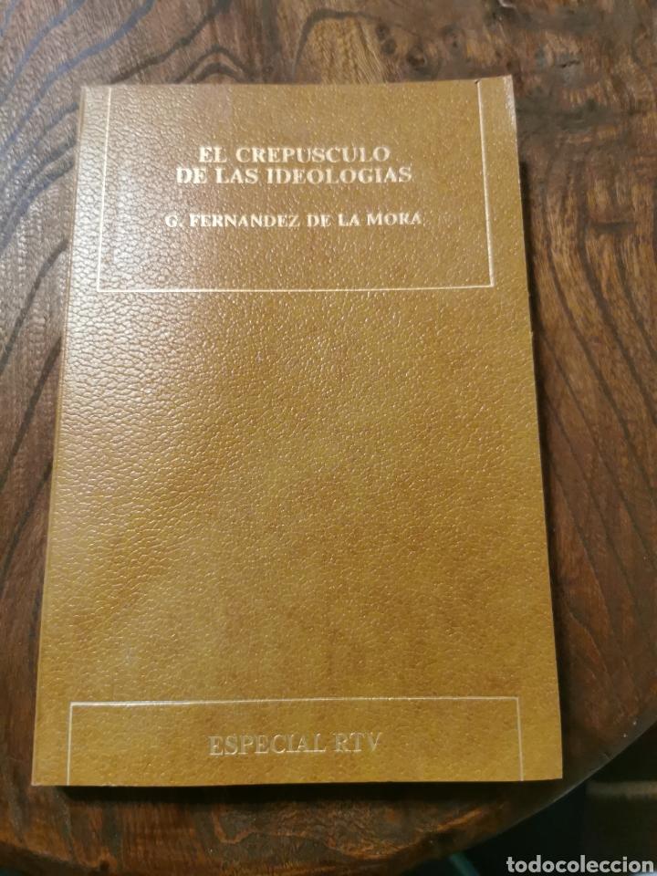 EL CREPÚSCULO DE LAS IDEOLOGÍAS LIBRO (Libros de Segunda Mano - Pensamiento - Política)
