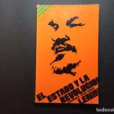 Libros de segunda mano: EL ESTADO Y LA REVOLUCIÓN. LENIN. Lote 222391921