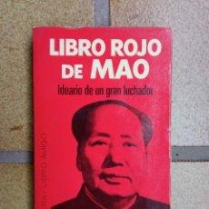 Libros de segunda mano: LIBRO ROJO DE MAO. EDICIÓN DE MATEO MADRIDEJOS. Lote 222550532