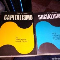 Libros de segunda mano: LOTE DE 4 VOLÚMENES CAPITALISMO SOCIALISMO FASCISMO COMUNISMO PLAZA Y JANES. Lote 159125852