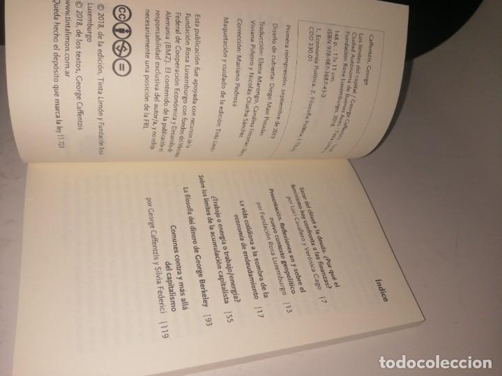 Libros de segunda mano: George caffentzis, los límites del capital - Foto 3 - 222945376