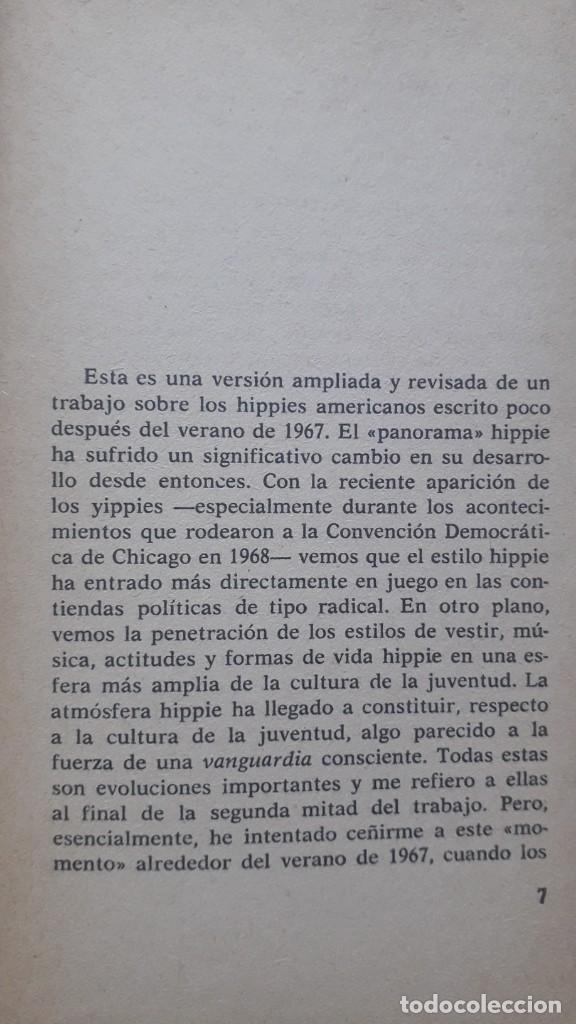 Libros de segunda mano: Los hippies: una contra-cultura - Hall, Stuart. editorial Anagrama, 1970 - Foto 3 - 224158940