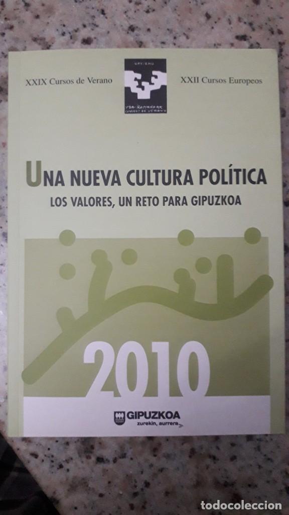 UNA NUEVA CULTURA POLITICA: GIPUZKOA, PARTICIPACION, PERSPECTIVA DE GENERO, NACIONALISMO, BNG (Libros de Segunda Mano - Pensamiento - Política)