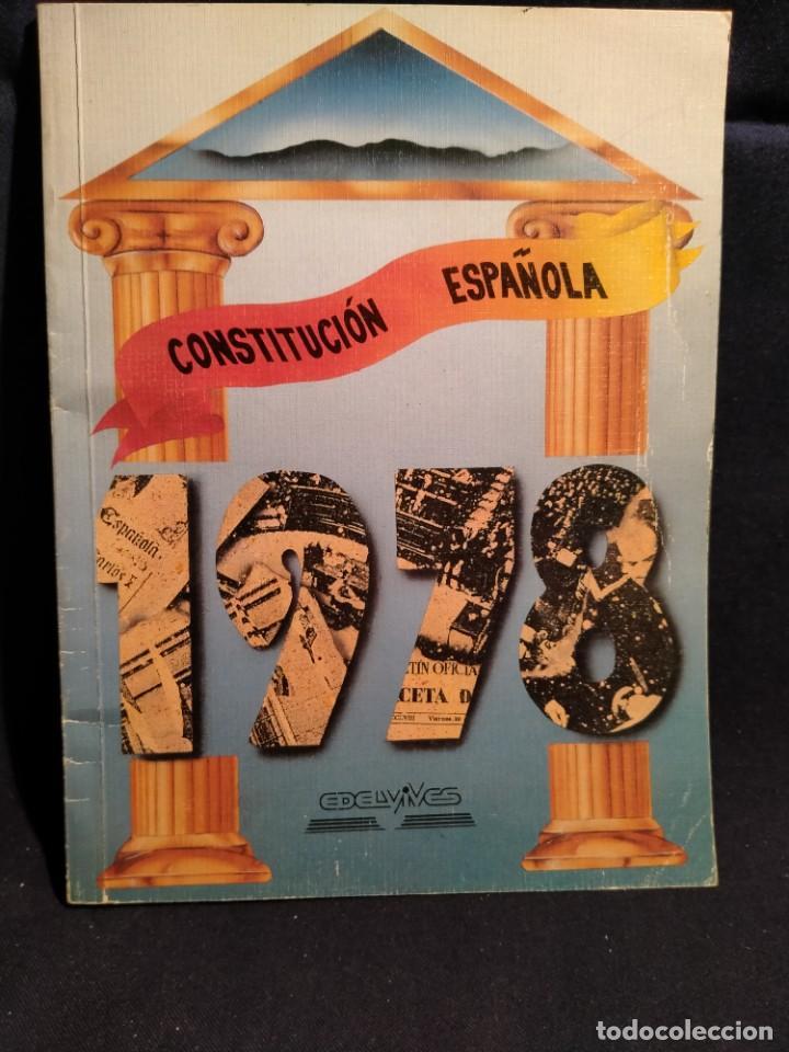 LA CONSTITUCIÓN ESPAÑOLA. 1978. LB14 (Libros de Segunda Mano - Pensamiento - Política)