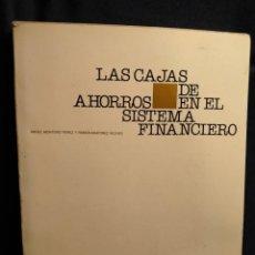 Libros de segunda mano: LAS CAJAS DA AHORROS Y EL SISTEMA FINANCIERO. LB14. Lote 227876875
